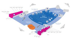 Palais des Congres de Paris - Niv1